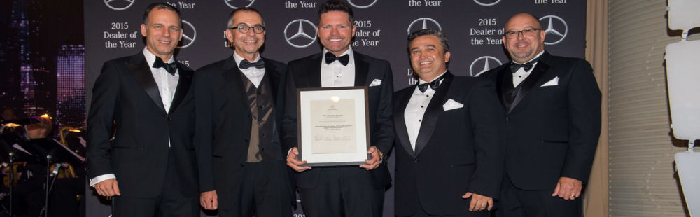 Dealer of the year, victoria, number 1, Mercedes-Benz Berwick